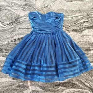 Betsey Johnson Royal Blue Party Dress❤ Wow❤